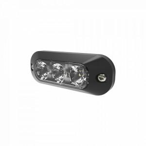 Ed3703c Ecco Luz Perimetral De 3 LEDS Color Blanco