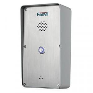 I21 Fanvil Portero De 2 Cuentas SIP Con Relevador Integrado Para