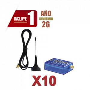 Kit10mini012g M2m Services KIt De 10 Comunicadores