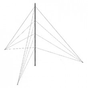 Ktz45e042 Syscom Towers Kit De Torre Arriostrada D
