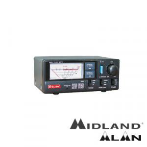 Kw520 Midland Wattmetro Para Uso Semi Profesional