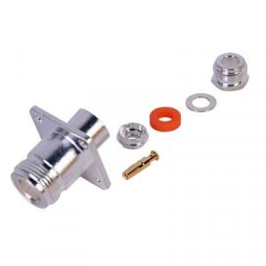 Rfn10216 Rf Industriesltd Conector N Hembra Mont