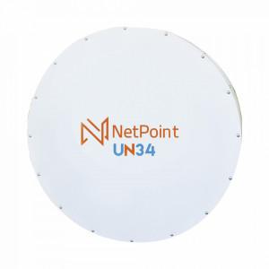 Un34 Netpoint Radomo Aislante Para Alta Inmunidad