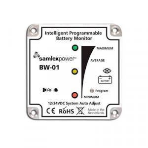 Bw01 Samlex Monitor De Baterias 12/24V Bw-01