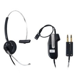 Dish1 Telex Diadema Para Despachador Incluye Cable Adaptador Con