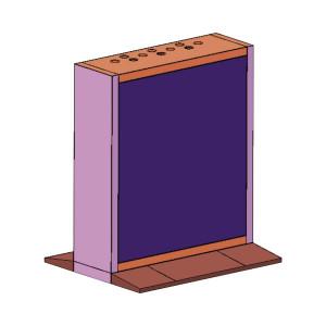 Dsdn55b3mb Hikvision Gabinete Pedestal Modular Par