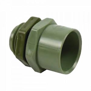 Ec031 Cresco Conector De 2-1/2 Para Tuberia PVC Co