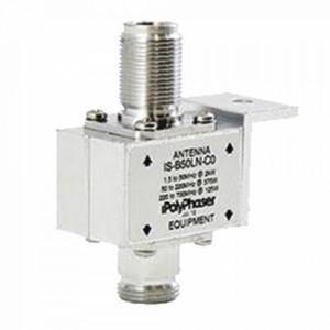 Isb50lnc0 Polyphaser Protector Coaxial De 10MHZ A