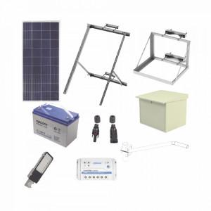Kitsl30w Epcom Industrial Kit De Energia Solar Par