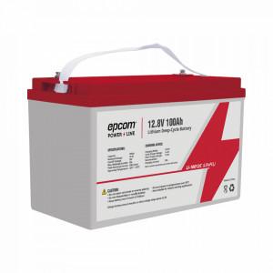 Li10012c Epcom Bateria De Litio Ciclo Profundo 12.