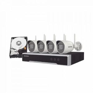Nk42w0h1twdd Hikvision Kit IP Inalambrico 1080p /