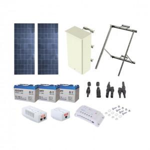 Pl1224grc Syscom Kit Solar De 24 W Con PoE 802.3af