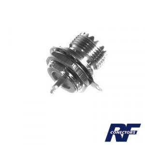 Rfu523 Rf Industriesltd Conector UHF Hembra SO-2
