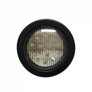 X3945a Ecco Luz Direccional LED Ambar Circular Con