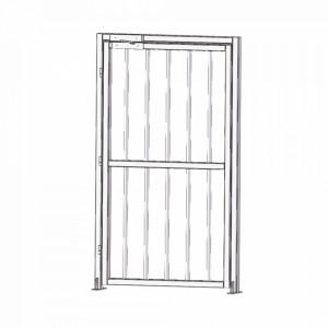 Xd100 Accesspro Puerta Lateral Para Torniquetes De