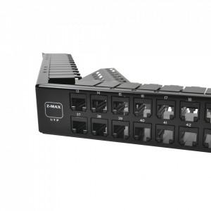 Z6apnlau48k Siemon Patch Panel UTP Z-MAX Categoria