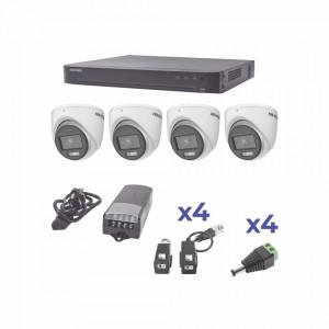 Kh1080p4ec Hikvision KIT COLORVU TURBOHD 1080p / D