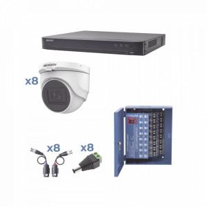 Kh1080p8dw Hikvision Kit TURBOHD 1080p / DVR 8 Can