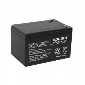 Pl1212 Epcom Powerline Bateria Con Tecnologia AGM/