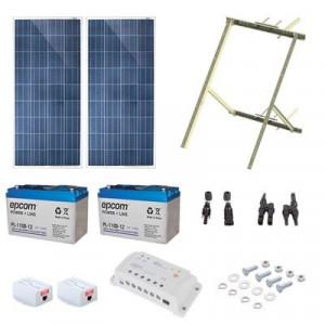 Pl1224g2r Epcom Powerline Kit Solar De 17 W Con Po