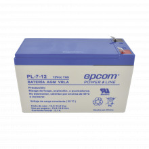Pl712 Epcom Powerline Bateria AGM / VRLA / 12 Vcd