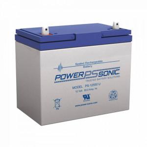 Ps12550u Power Sonic Bateria De Respaldo UL De 12V
