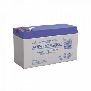 Ps1280f1 Power Sonic Bateria De Respaldo UL De 12V