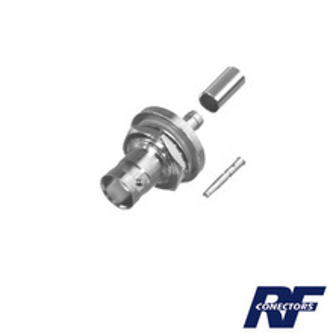 Rfb1117c1 Rf Industriesltd Conector BNC Hembra He