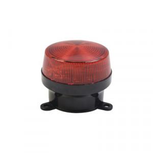 SFSTRR Sfire Mini estrobo color Rojo con montaje d