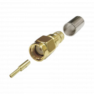 Ttsm0022 Epcom Titanium Conector SMA Macho Inverso