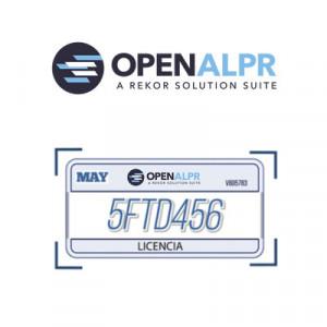 UPDATEOPENALPR01 Openalpr Licencia anual de manten