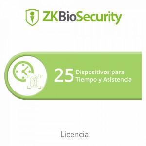 Zkbsta25 Zkteco Licencia Para ZKBiosecurity Permit