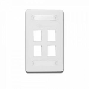 10gmxfps0402 Siemon Placa De Pared Modular 10G MAX