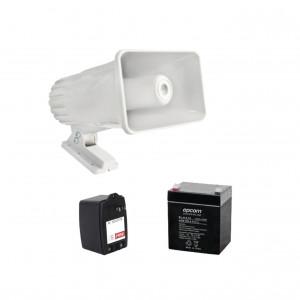 4a16v30w Syscom Kit De Accesorios Con Bateria 4Ah