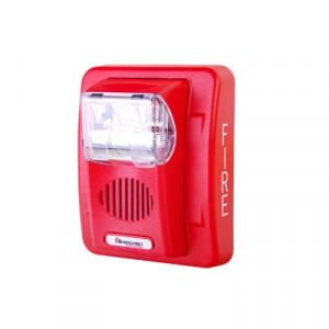 HEC312WR Hochiki Sirena/estrobo color rojo 12 Vc