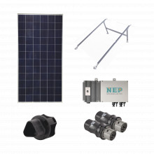 Kit1bdm600lv127 Epcom Kit Solar Para Interconexion