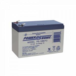 Ps1280f2 Power Sonic Bateria De Respaldo UL De 12V