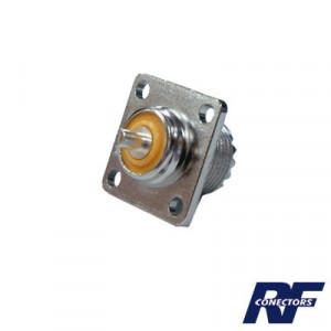 Rfu521 Rf Industriesltd Conector UHF Hembra SO-2