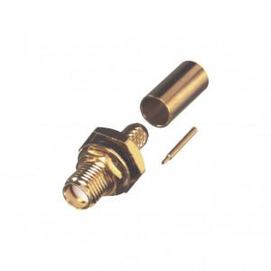 Rp32521c1 Rf Industriesltd Conector SMA Hembra In