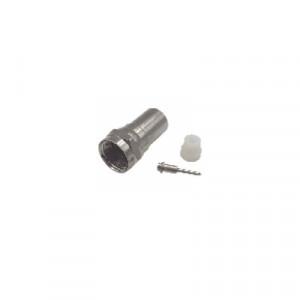 TTCON537 Epcom Titanium Conector F Macho Plegable