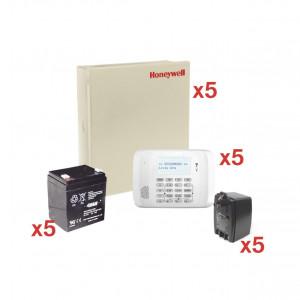 Vista48kit5 Honeywell Home-resideo Kit De 5 Panele