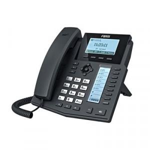 X5 Fanvil Telefono IP Empresarial Para 6 Lineas SIP Con Voz HD Co