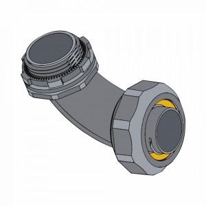 Anchlc100 Anclo Conector Curvo Para Tubo Tipo Liqu