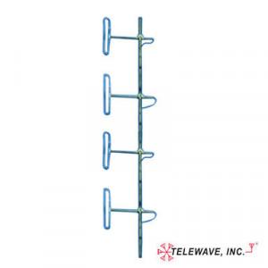 Ant150d69 Telewave Inc Antena Base VHF De 4 Dipo