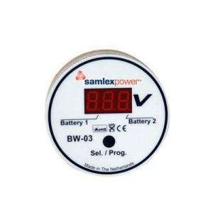 Bw03 Samlex Monitor De Baterias Entrada 6-31 Vcd