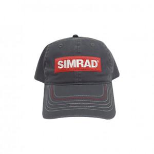 Capsimgris Simrad Gorra Color Gris Con Logo Simrad