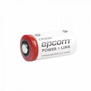 Cr123a Epcom Powerline Bateria De Litio 3V 1300 MA