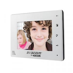 Kcvd372mw Kocom Monitor Adicional En Color Blanco