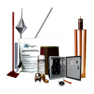 Kitmaster01 Total Ground Kit Pararrayo Con Accesor