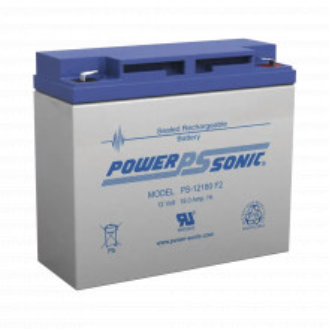 Ps12180f2 Power Sonic Bateria De Respaldo UL De 12